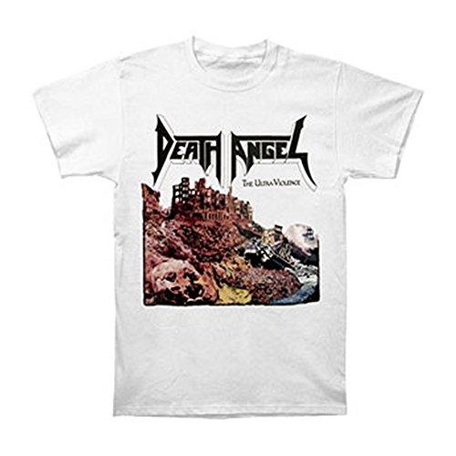 Death Angel Men's Ultra-Violence T-shirt White