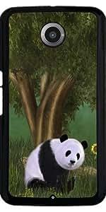 Funda para Motorola Nexus 6 - Lindo Panda by Gatterwe