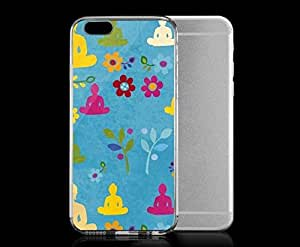 Light weight with strong PC plastic case for iphone 6 plusd 5.5 Artists Challis & Roos Colorful Zen
