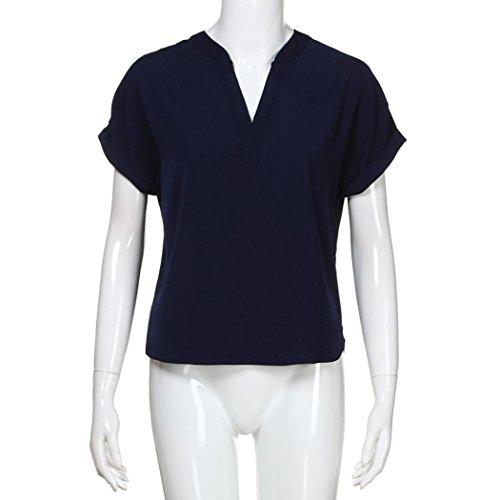 Shirt155 Dunkelblau Bekleidung Damen Donna Ballerine Sanfashion BqvTawa
