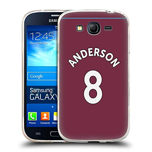 Official West Ham United FC Felipe Anderson 2018/19 Players Home Kit Group 2 Soft Gel Case for Samsung Galaxy Grand Neo]()