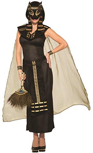 Mythical Creatures Bastet Egyptian Cat Goddess Women's Adult Halloween Costume - Egyptian Cat Goddess Costume