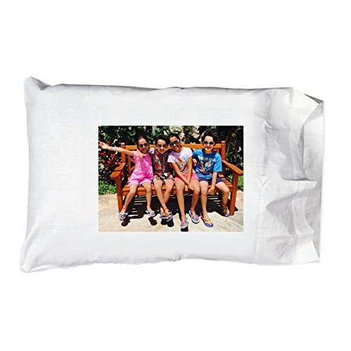 Hat Shark Personal Personalized Add Your Photo Pillowcase Pillow Case - Custom Customizable Gift ()