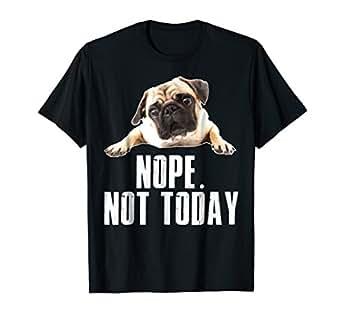 Amazon.com: Nope - Camiseta para perro, diseño con texto en ...