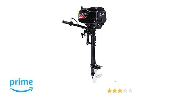 Amazon com: LEADALLWAY Outboard Motor 2 Stroke 3 6 HP