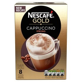 (Nescafe Gold Menu Cappuccino Strong Instant Coffee)
