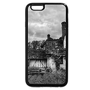 iPhone 6S Case, iPhone 6 Case (Black & White) - House In France