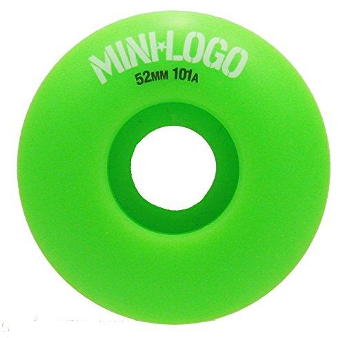必須真っ逆さま取り囲むミニロゴ (MINILOGO) C-CUT 52mm 101A スケートボード ウィール スケボー