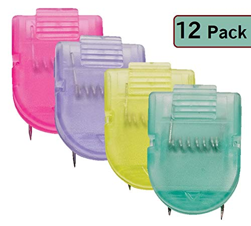 1InTheOffice Cubicle Clips, Assorted Colors,