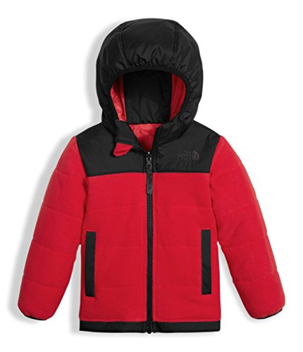 Toddler Reversible Jacket (The North Face Toddler Boy's Reversible True Or False Jacket - TNF Red - 4T (Past Season))