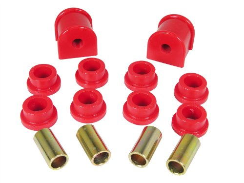 Prothane 1-1112 Red 13 mm Rear Sway Bar Bushing Kit for TJ