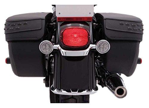 Ciro Fang Signal Light Inserts Red - Chrome]()