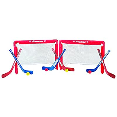 Franklin Sports NHL Mini Hockey Goal Set of 2
