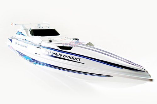 35 Radio Remote Control High Speed Xcyclone Racing Boat (White only) by NQD