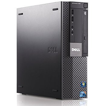 Dell Optiplex 980 Desktop Computer, i3 3.2GHz, 8GB, 500GB DVD, Windows 10 Pro (Certified Refurbished)