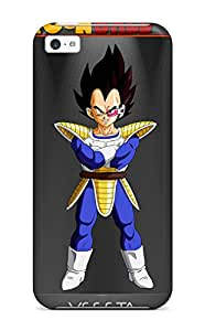 Hot New Snap-on Skin Case Cover Compatible With Iphone 5c- Dbz Vegeta