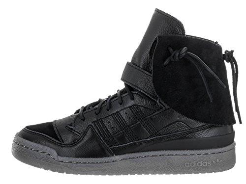 Adidas Mens Forum Hi Moc Scarpa Casuale Nero / Argilla