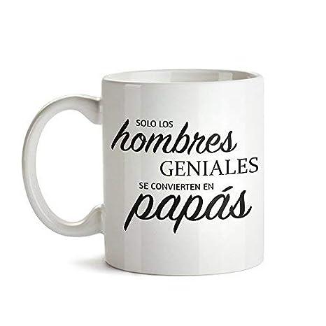 Tassenwerk Taza de Café Blanca con Mensaje – Taza de Graduación para Papás – Taza de Café como Idea para el Día del Padre – Regalo Ideal para Papás ...