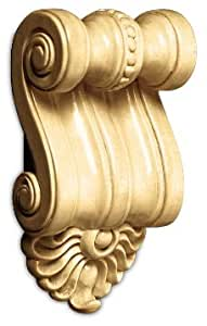 White River Small Scrolled Corbel, Maple