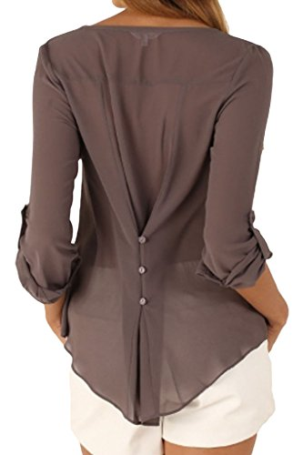 happy-sailed-women-2016-new-casual-chiffon-button-v-neck-blouses-shirts-x-large-grey