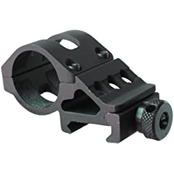 Olight M Series Offset Mount M Series Flashlight Offset Gun Mount, Black