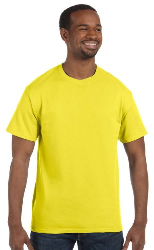 - Gildan Men's Heavy Cotton Short Sleeve T Shirt Daisy XXL