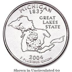 2004-P Michigan BU State Quarter