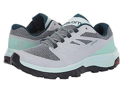 (Salomon Women's Outline GTX¿ Pearl Blue/ICY Morn/Reflecting Pond 9.5 B US)