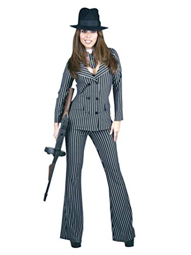Charades Costumes Women's Gangster Moll Adult Costume