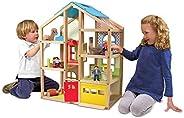Melissa & Doug Hi-Rise Dollhouse and Furniture