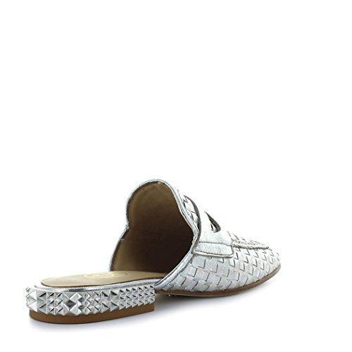Ash Women's Shoes Eloise Silver Mule Spring Summer 2018 vBnMlm