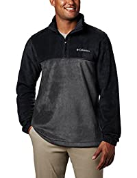 Men's Steens Mountain Half Zip Soft Fleece Jacket,...