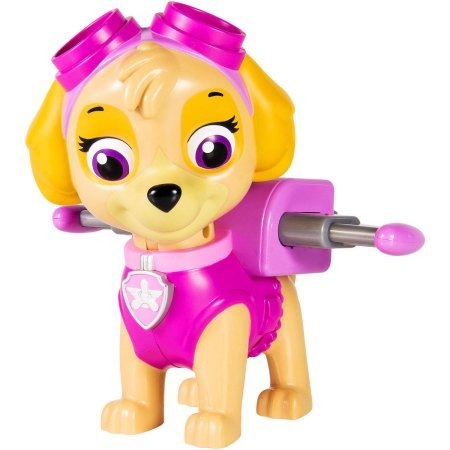 "This Pup's Gotta Fly, Paw Patrol Jumbo Action Pup, Skye 6"" Tall"