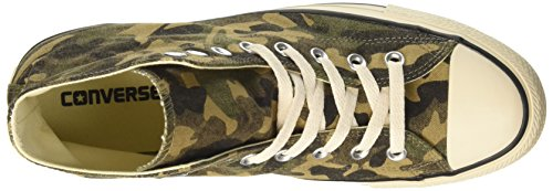Converse Ctas Hi Fatigue, Sneakers para Hombre Verde (Fatigue Green/natural/egret)