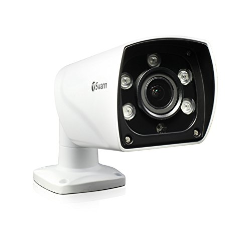 Swann PRO SERIES Indoor/Outdoor CCTV Camera Black/White SWPRO-1080ZLB-US