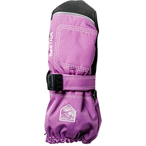 Hestra Mittens for Baby: Kids Zip Long Mitten with Primaloft Insulation