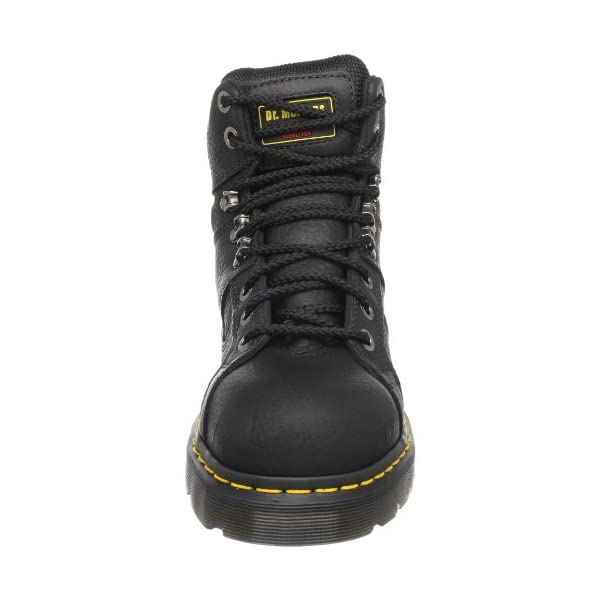 Dr. Martens Ironbridge Safety Toe Boot,Black,8 UK/10 M US Women's/9 M US Men's