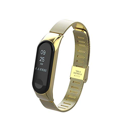 Barthylomo Xiaomi Mi Band 3 Watch Milanese Magnetic Loop Wrist Watch Bands Watch Replacement Band Watches Accessories from Xiaomi Watchband Barthylomo