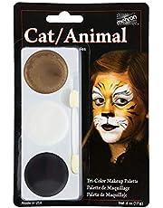Mehron Tri-Color Makeup Palette - Cat/Animal (kat/dier)
