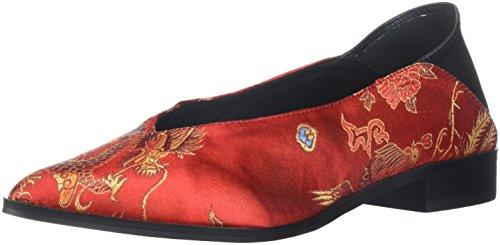 Gladys Shellys red Mujer Rojo Para Londongladys Dragon BwHqxOTp