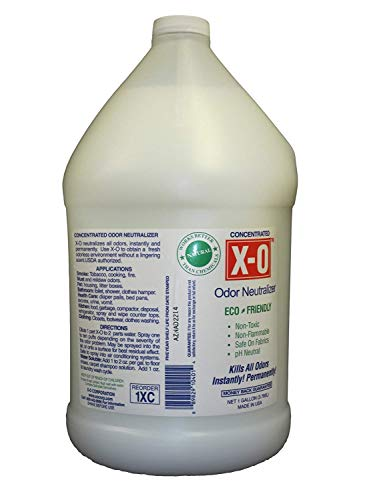 X-O Odor Neutralizer Concentrated (32oz, 1gallon, 5gallons) - All-Natural Odor Neutralizer Deodorizer. Concentrate, 1-Gallon (Best Cologne To Cover Up Weed)