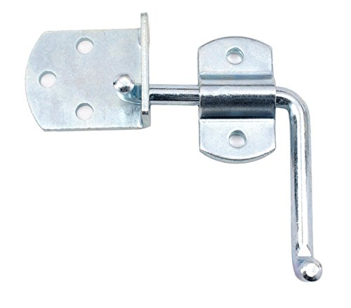 Pkg of (2) Side Gate Latch Sets for Stake Body Gates - Clear (Zinc Gate)