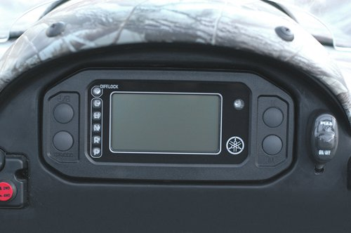 Yamaha OEM 2007-09 Rhino 450 Digital Meter Kit. Multi-Function LCD. SSV-2P581-20-00 by YAMAHA