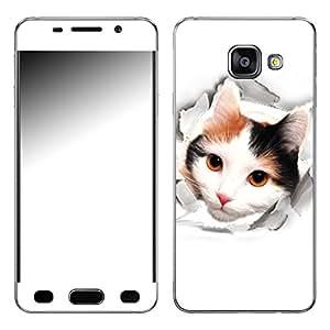 "Motivos Disagu Design Skin para Samsung Galaxy A3 (2016): ""Neugieriger Entdecker"""