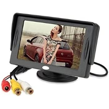 Generic 4.3 Inch LCD TFT Rearview Monitor screen for Car Backup Camera