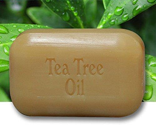 The Soap Works Tea Tree Oil Cleansing Bar for Sensitive Skin