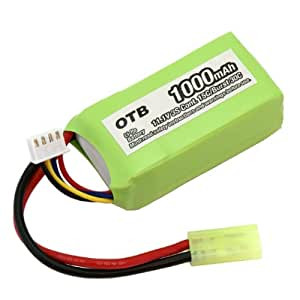 batería acumulador para Parrot AR.Drone Li-Po 1000mAh