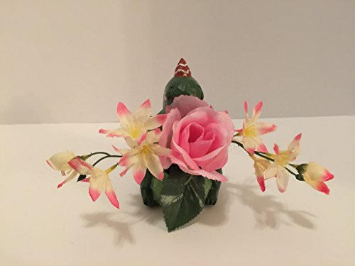 ANIMAL FUN - PARTY DINOSAUR - PINK/WHITE JASMINE AND PINK ROSE by Peters Partners Design