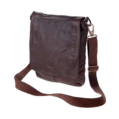 Dudu - Sac porté épaule - 580-1157 Timeless - Bag - Marron - Homme