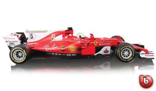 1/18 ブラゴ BURAGO Ferrari SF70H S.Vettel フェラーリ S.ベッテル ミニカー B077JL335D